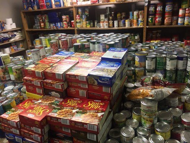 GUCM Food Pantry